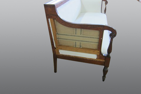 Antique_Striped_Sofa_In_process-reupholster-residential_1