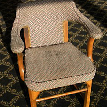 Commercial Reupholstery Project—Before
