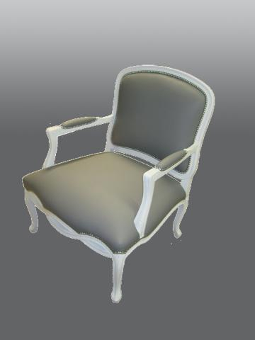 Armchair With Nailheads