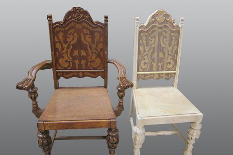 Chair_fabricated_to_match_original_4