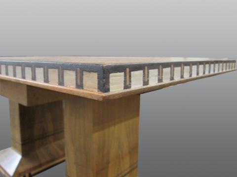Zebra_Wood_Square_Table-refinish-residential_1
