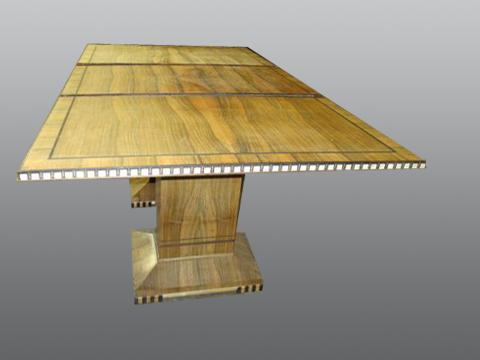 Zebra_Wood_Square_Table-refinish-residential_2
