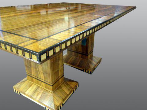 Zebra_Wood_Square_Table-refinish-residential_5