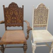 Chair_fabricated_to_match_original_4